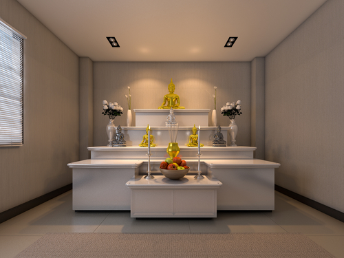 15 Contemporary Pooja Room Tiles Ideas Coordinating Your Modern Homes