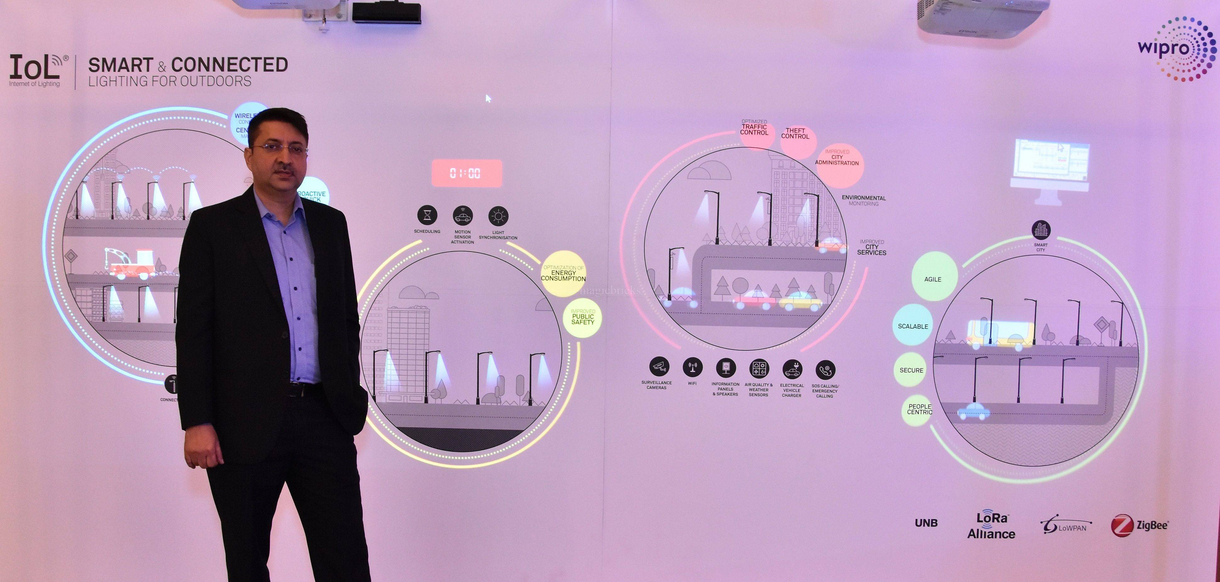 Wipro Lighting Launches Internet Of