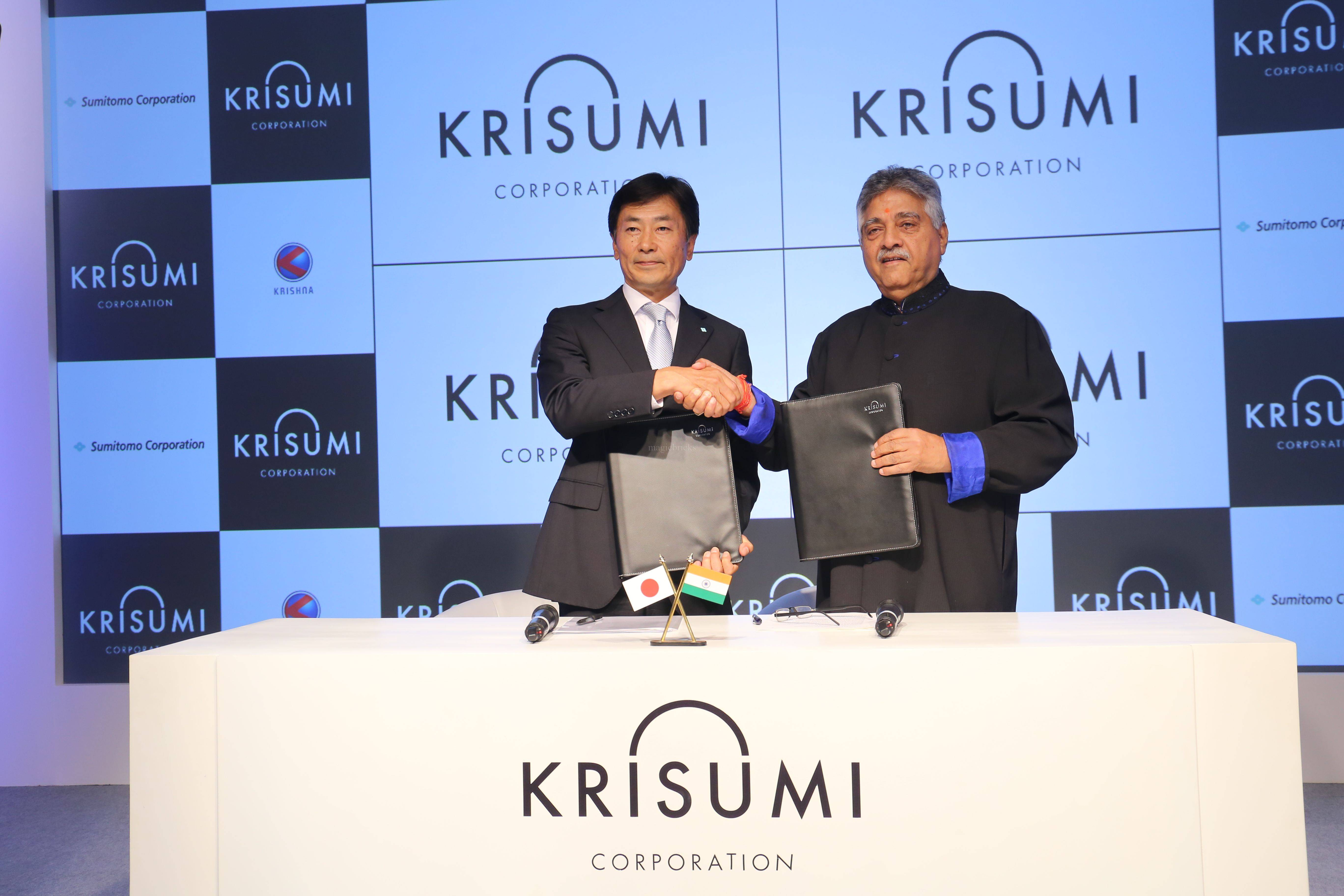 Sumitomo Corp, Krishna Group announce first Indo-Japan Real