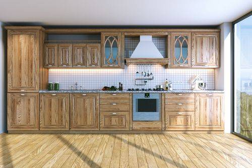 Color Combinations With Brown Cabinets, What Colors Go With Light Brown Kitchen Cabinets