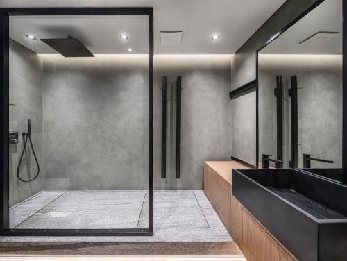Install Bathroom Glass Partition Ideas, Glass Bathroom Partition Walls