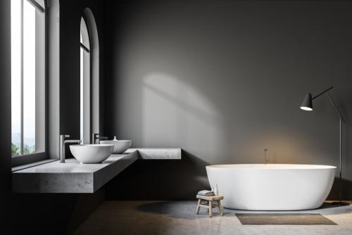 bathroom-with-large-window-frames