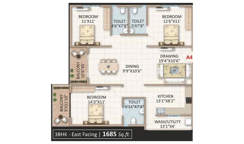 Candeur Landmark In Whitefield Bangalore Price Brochure Floor Plan Reviews
