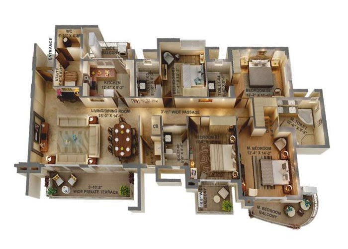 The Peaceful Homes In Sector 70a Gurgaon Price Brochure Floor Plan Reviews