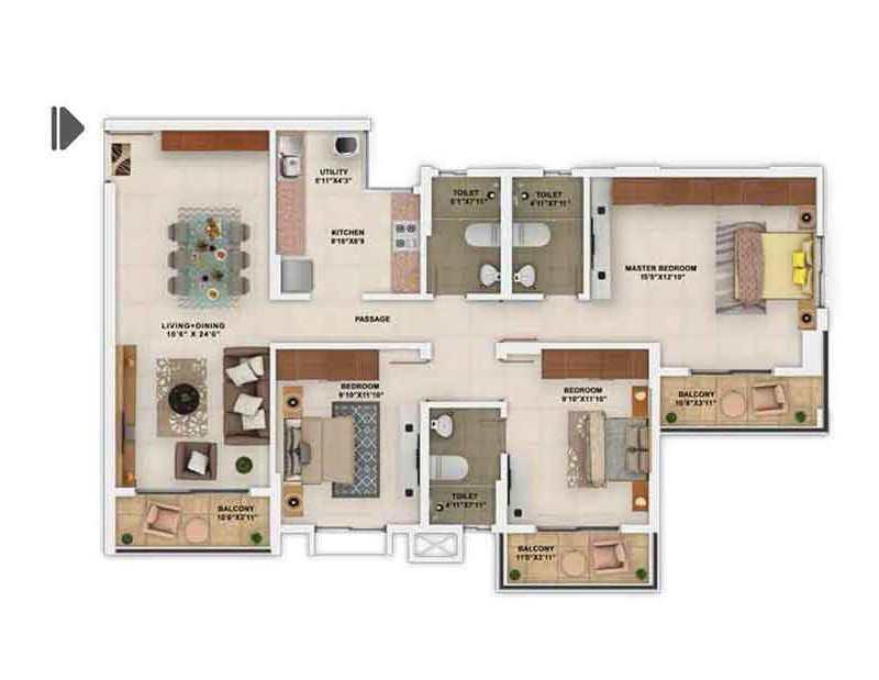Salarpuria Sattva Park Cubix In Devanahalli Bangalore Price Brochure Floor Plan Reviews
