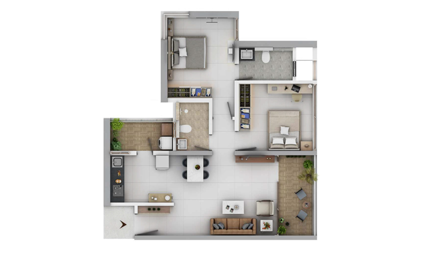 Paranjape Orion At Blue Ridge In Hinjewadi Pune Price Brochure Floor Plan Reviews