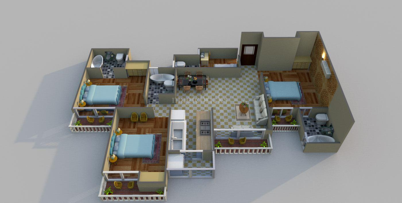 French Apartments in Noida Extension | Price Rs 26.94 Lacs ...