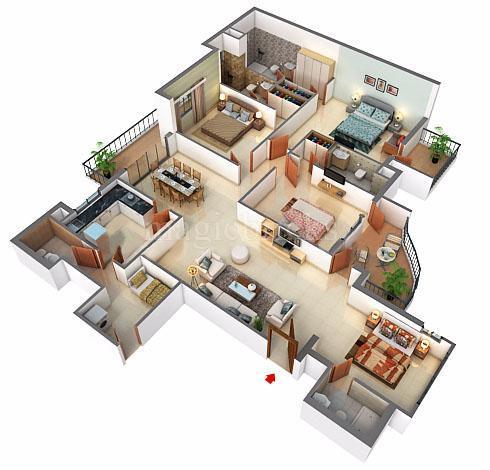Emaar Palm Terraces Select In Sector 66 Gurgaon Price Brochure Floor Plan Reviews