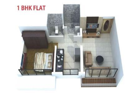 Units Prices In Balaji Symphony By Space India 1 BHK Flat