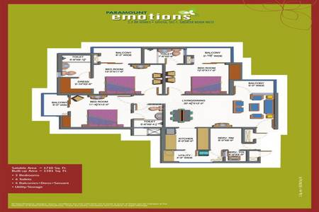 Paramount Emotions In Noida Extension Noida Paramount Emotions