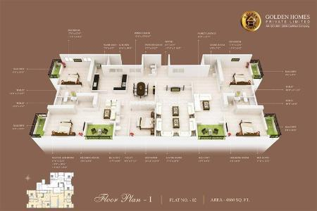 Golden Homestead in Harrington Road, Chennai | MagicBricks