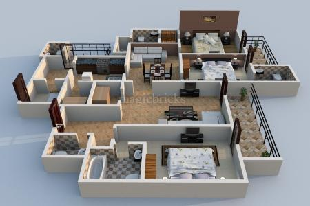 Image result for 3 bhk flats in mohali