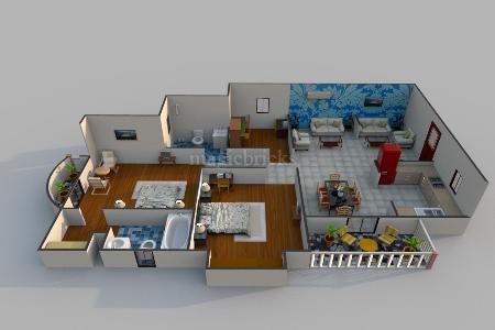 2 BHK Apartments in Sector-76 Noida - Double bedroom ...