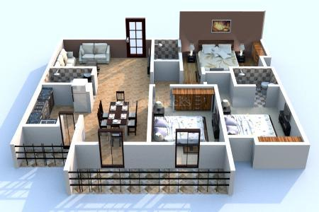 Dhruva Apartment In Old Airport Road Bangalore By Sandeep Constructions Magicbricks