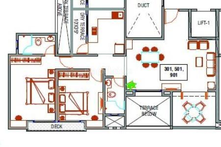 Floor Plan 76 Neco Skypark Pune 5016886_268_390_300_450 neco skypark in pimple nilakh, pimpri chinchwad, pune by vasupujya neco wiring diagram at webbmarketing.co
