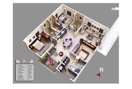 2bhk Apartment For New Property In Arsis Green Hills At K R Puram