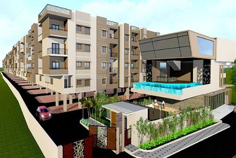 3 Bhk Low Budget Flat For In Agrahara Layout