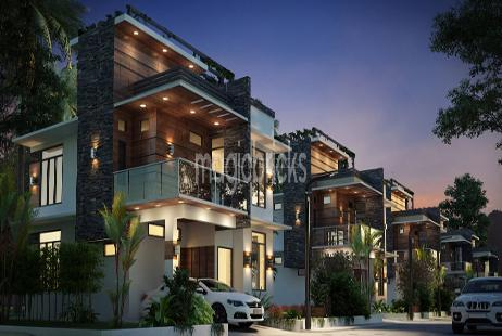 3bhk Villa For New Property In Sun Sparkle At Sarur Road