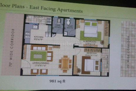 2 Bhk Flats For Rent In Miyapur Hyderabad Double Bedroom