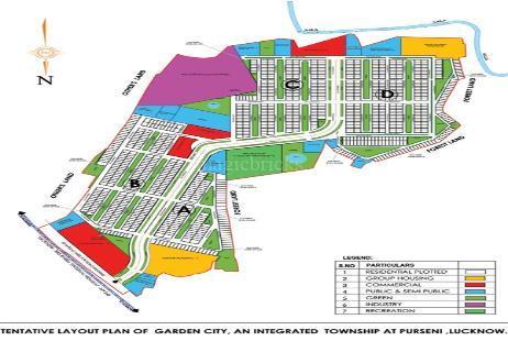Dlf Garden City In Raibareli Road Lucknow Price Brochure Floor Plan Reviews
