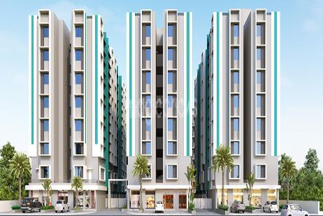 2 Bhk Apartment In Vraj Galaxy At Naroda