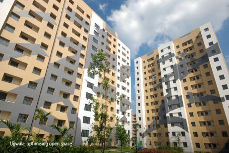 2bhk Multiy Apartment For Rent In Ujjwala Complex At City Centre New Town Image