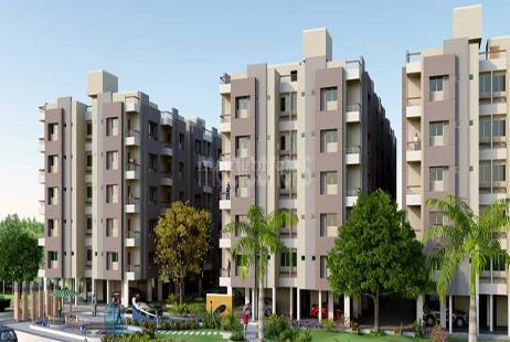 2 Bhk Apartment In Samruddhi Residency At Narolgam