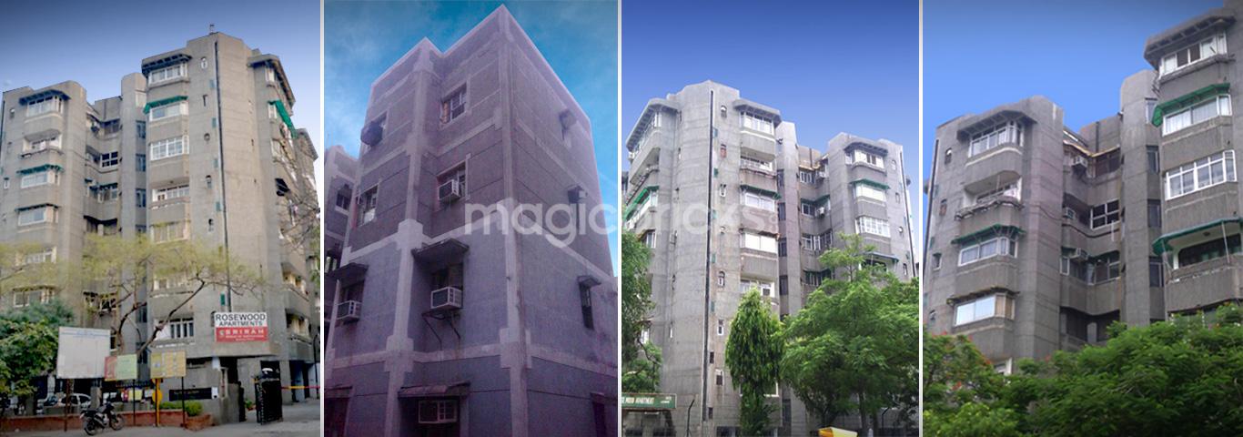 Rosewood apartments in sector 13 dwarka new delhi by dda for Dda new project in delhi