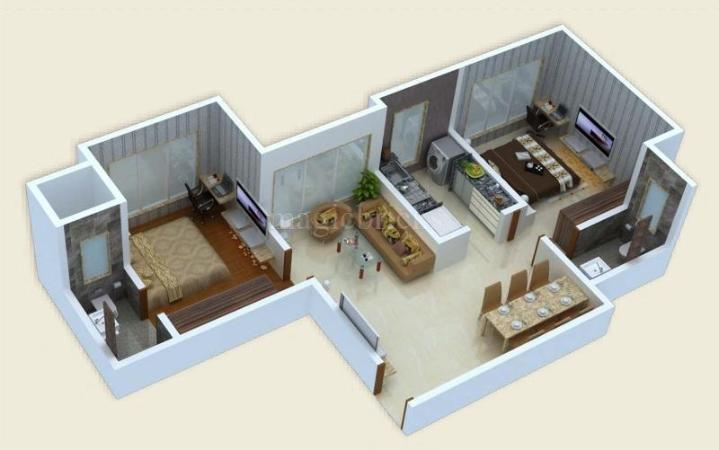 1 bhk flat apartment for sale in panom park vile parle for Guntha to sq ft