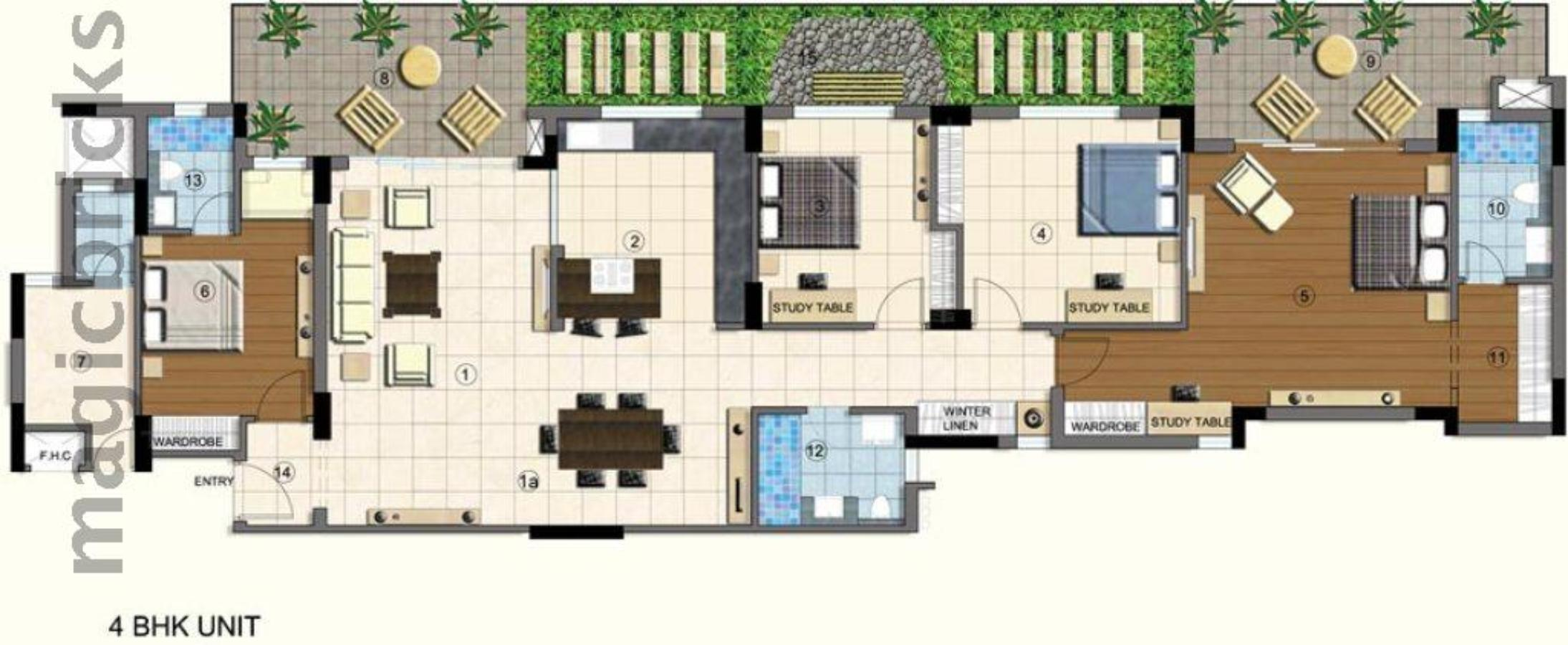 Lumbini Terrace Homes In Sector 109 Gurgaon By Brisk