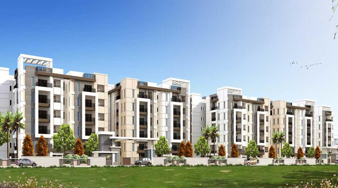 3 BHK Multistorey Apartment In Patels Green Park At Yapral Image