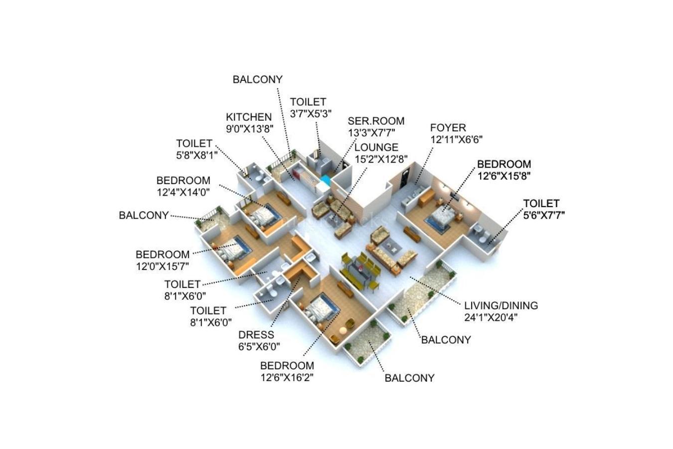 Dlf New Town Heights Floor Plan Remarkable design kitchen New in House Designer Room