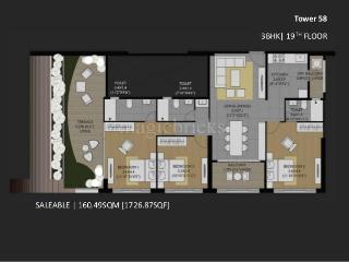 Studio Apartment Amanora amanora future towers phase 1 rent | 231 flats for rent in amanora