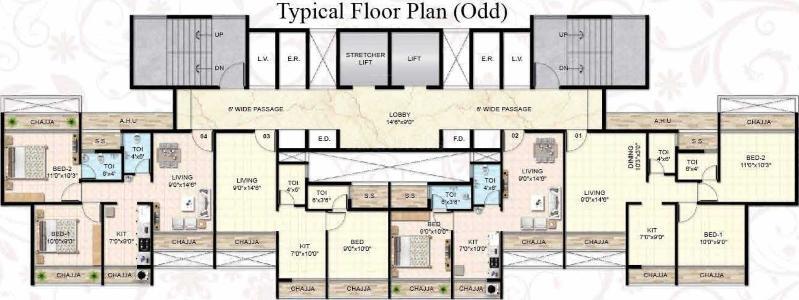 Buy 2 BHK Flat/Apartment in Neelkanth Luxuria Taloja